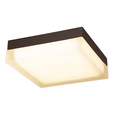 Venuti Square 1 Light Flush Mount Finish: Bronze