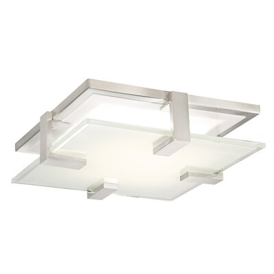 Meridien LED 1 Light Flush Mount