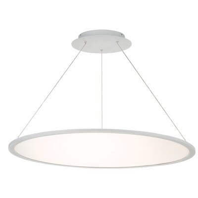 Illusion 1-Light LED Geometric Pendant