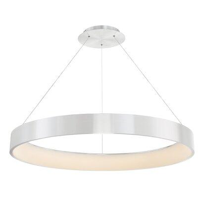 Corso 1-Light LED Drum Pendant