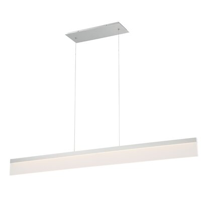 Level 1-Light LED Kitchen Island Pendant