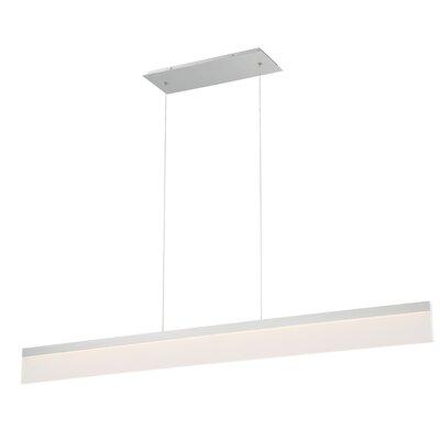 Level 1-Light LED Kitchen Island Pendant