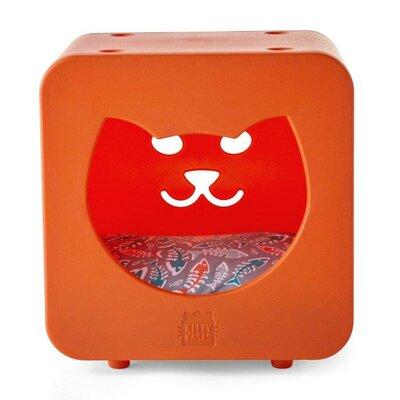 Nicki Bedroom Cube Color: Orange
