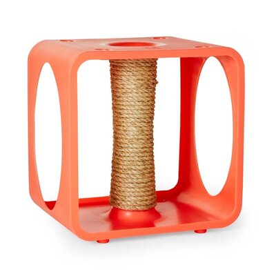 Levins Gym Cube Scratching Post Color: Orange