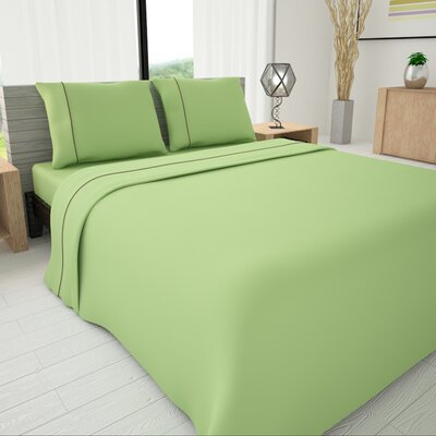 625 Egyptian quality cotton Sheet Set Size: Twin, Color: Green