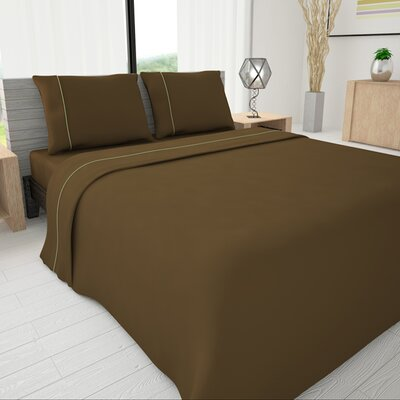 625 Egyptian quality cotton Sheet Set Size: Twin, Color: Mocha