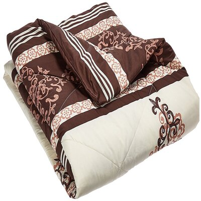 Panache Living Comforter Size: King