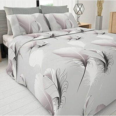 4 Piece Sapphire Egyptian-Quality Cotton Sheet Set Size: Queen