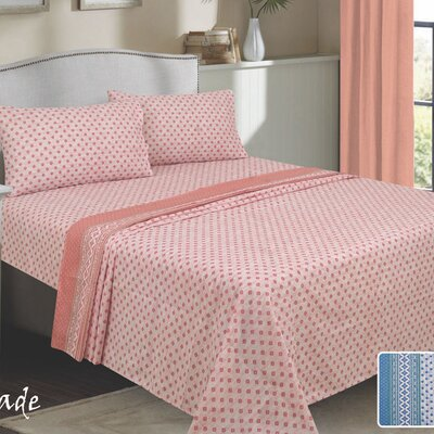Isabeli 300 Thread Count 100% Cotton Sheet Set