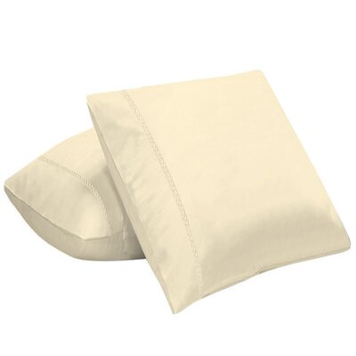 Coeure 100% Cotton Pillow Cover Color: Butter