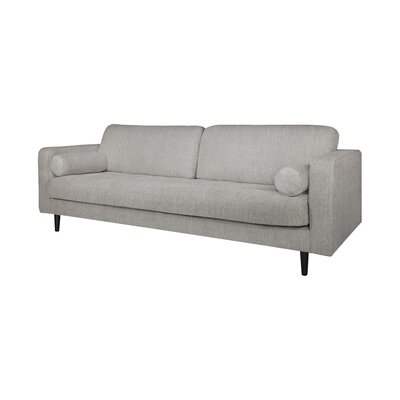 Freeman Sofa Upholstery: Light Gray
