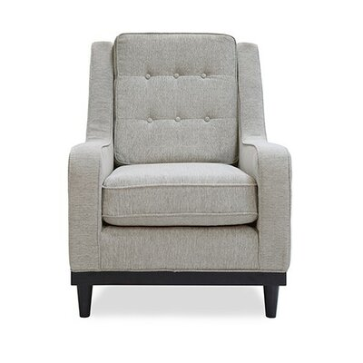 Freeman Armchair Color: Light Gray