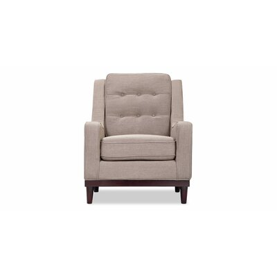 Freeman Armchair Color: Sand Linen