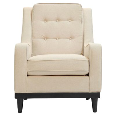Freeman Armchair Color: Oatmeal Linen
