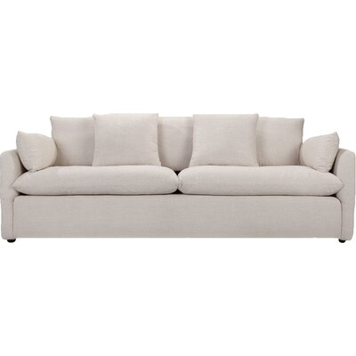 Cameron Sofa Upholstery: White Linen