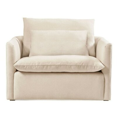 Cameron Armchair Color: Oatmeal linen