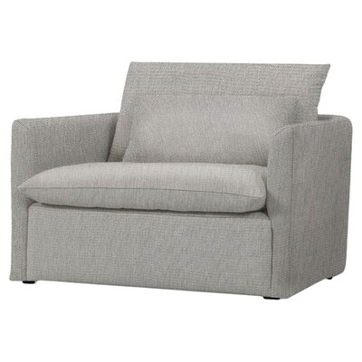 Cameron Chair and a half Color: Light gray