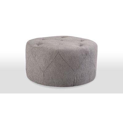 Freeman Medium Ottoman Upholstery: Grey Tweed
