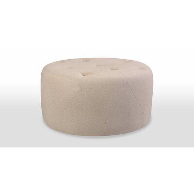 Freeman Medium Ottoman Upholstery: Oatmeal Linen