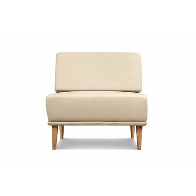Knook Slipper Chair Upholstered: Oatmeal Linen