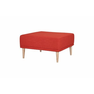 Knook Ottoman Upholstery: Earth Red
