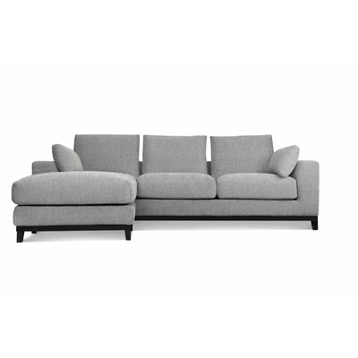 Kellan Modular Sectional Upholstery: Light Gray