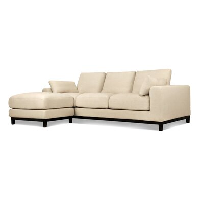 Kellan Sofa With Ottoman Upholstery: Oatmeal Linen