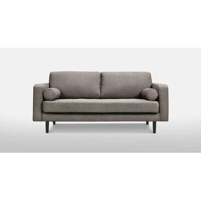 Freeman Medium Sofa Upholstery: Gray Tweed
