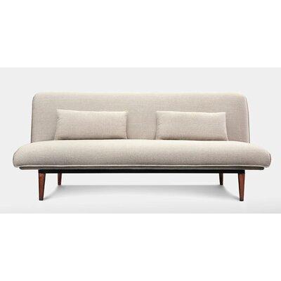 Abbey Sleeper Sofa Upholstery: White Linen