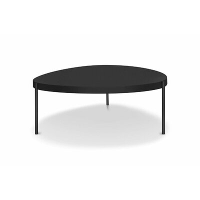 Mid Century Large Coffee Table Color: Black