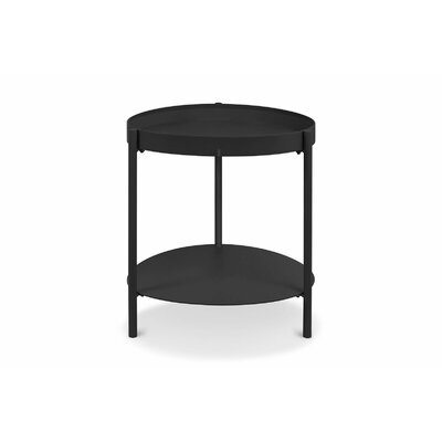 Ovoid End Table Finish: Black