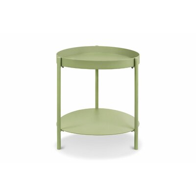 Mid Century End Table Color: Pale Green