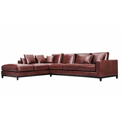 Kellan Sectional Upholstery: Oatmeal linen, Orientation: Right Hand Facing