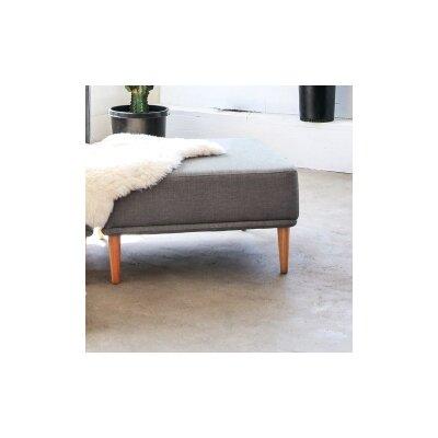 Knook Ottoman Upholstery: Gray Tweed