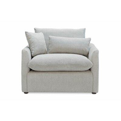 Cameron Armchair Upholstery: Light gray