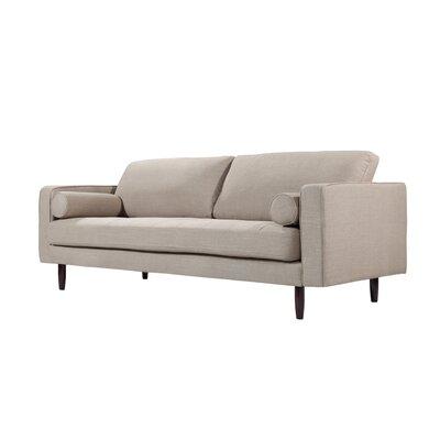 Freeman Sofa Upholstery: Sand Linen