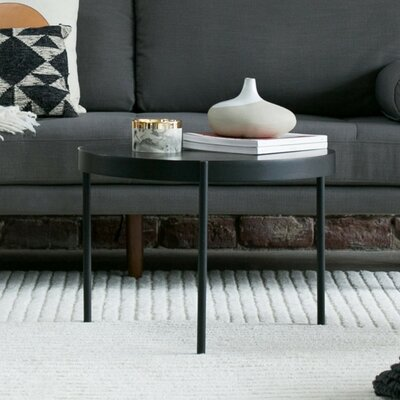 Mid Century Coffee Table Color: Black