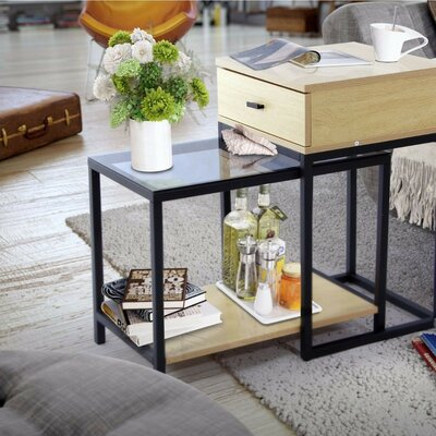 Adrastus 2 Piece Nesting Tables
