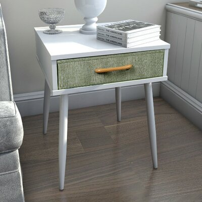 Undercliff End Table With Drawer