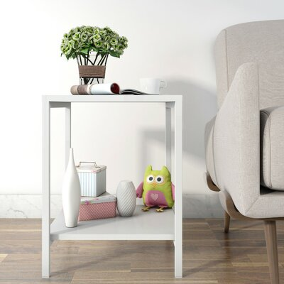 Kiesha Modern Square End Table