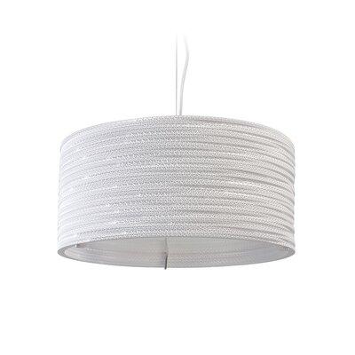 Scraplight 3-Light Drum Pendant Size: 8.5 H x 18 W x 18 D