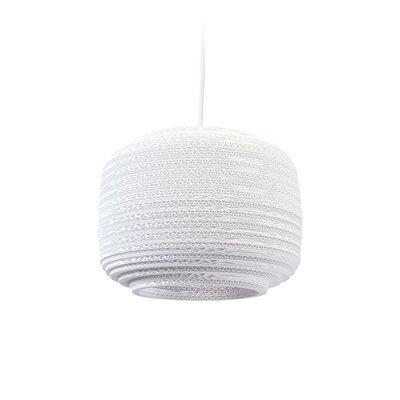 Scraplight Ausi 1-Light Drum Pendant Size: 11 H x 8.5 W x 8.5 D