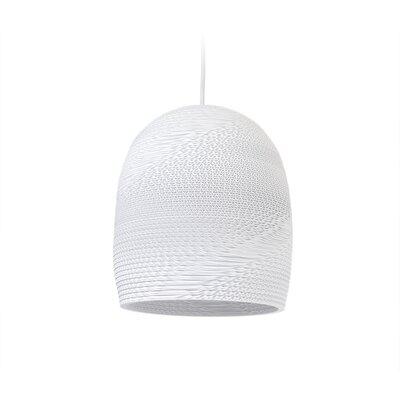 Scraplight Bell 1-Light LED Mini Pendant Size: 11 H x 10.5 W x 10.5 D