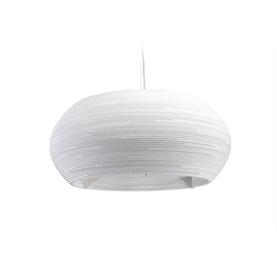 Scraplight Ohio 1-Light Drum Pendant Size: 13 H x 32 W x 32 D