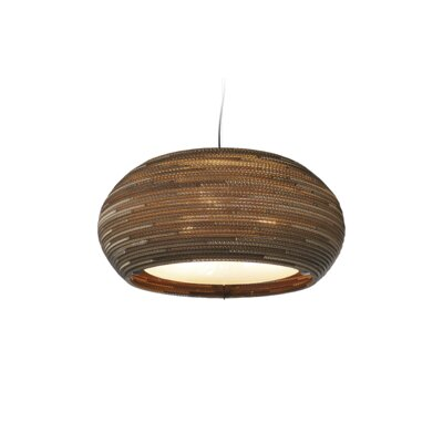 Scraplight Ohio 3-Light Drum Pendant Size: 10
