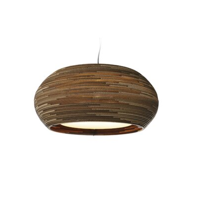 Scraplight Ohio 3-Light Drum Pendant Size: 13 H x 32 W x 32 D