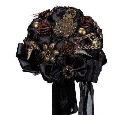 Steampunk Wedding Bouquet BQ270