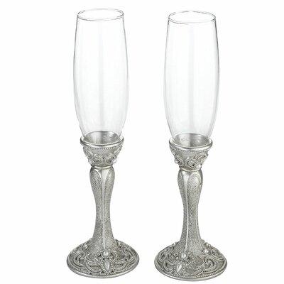 Regal Elegance Toasting Glass Champagne Flute G935