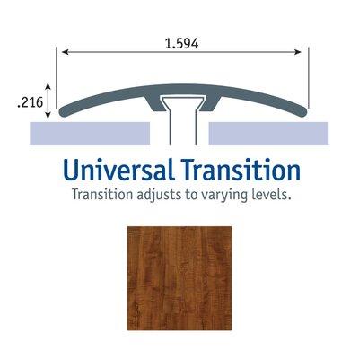 0.25 x 1.75 x 94 Jatoba Universal Transition in Cayenne