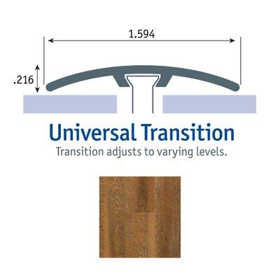 0.25 x 1.75 x 94 Oak Universal Transition in Canyon